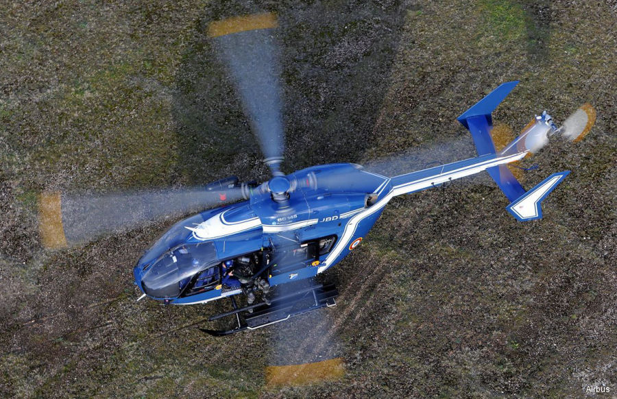 The French Gendarmerie Nationale orders one EC145 to be delivered in 2018 and in the same configuration as the existing 14 currently in use. First one was delivered in 2002.
