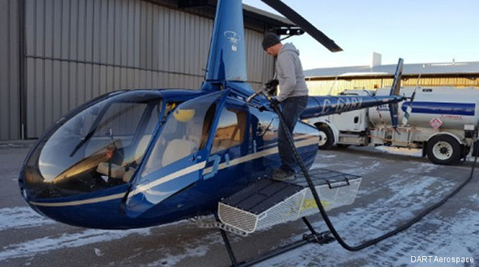 DART Aerospace first to produce and certify R66 heli-utility basket