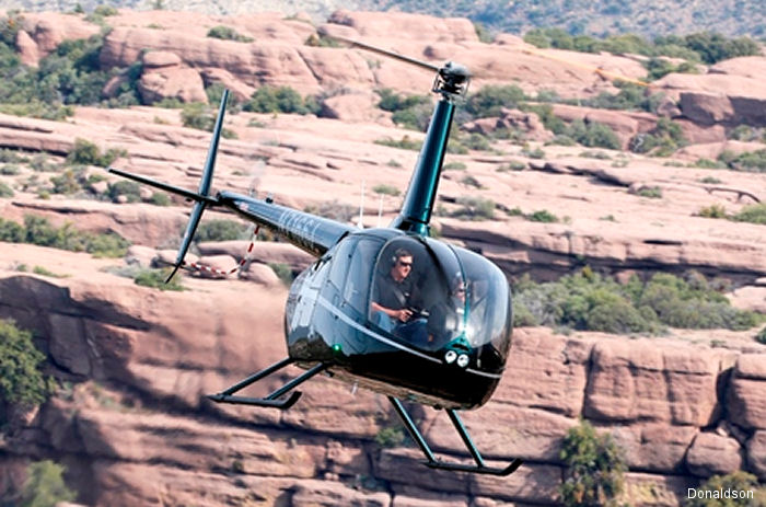 Donaldson developed the first Inlet Barrier Filter (IBF) for the Robinson R66 Turbine helicopter. Certified by the FAA, will be on display at Heli-Expo 2017 in Dallas.