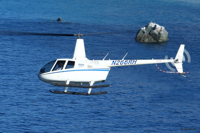 European Aviation Safety Agency (EASA) issued final approval for the R66 Turbine Marine pop-out float installation.