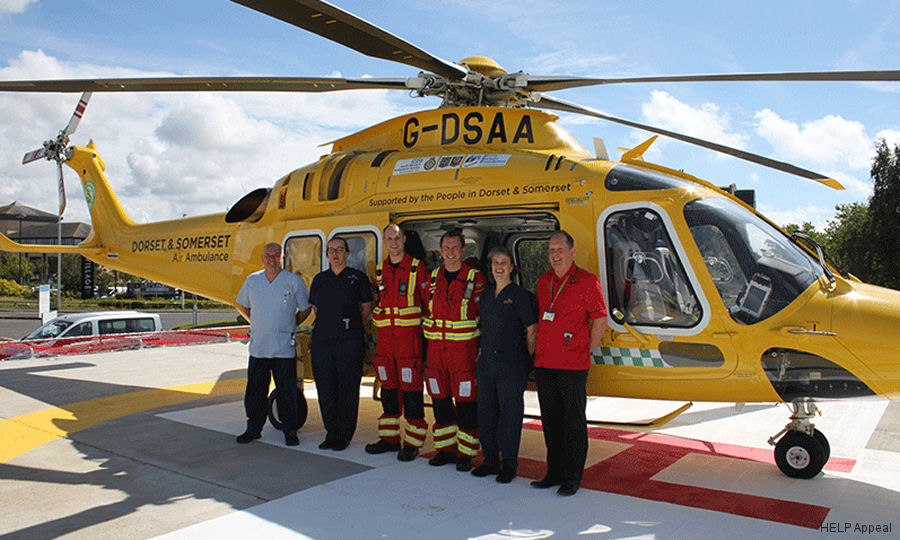 AW169 Lands on New Bournemouth Helipad