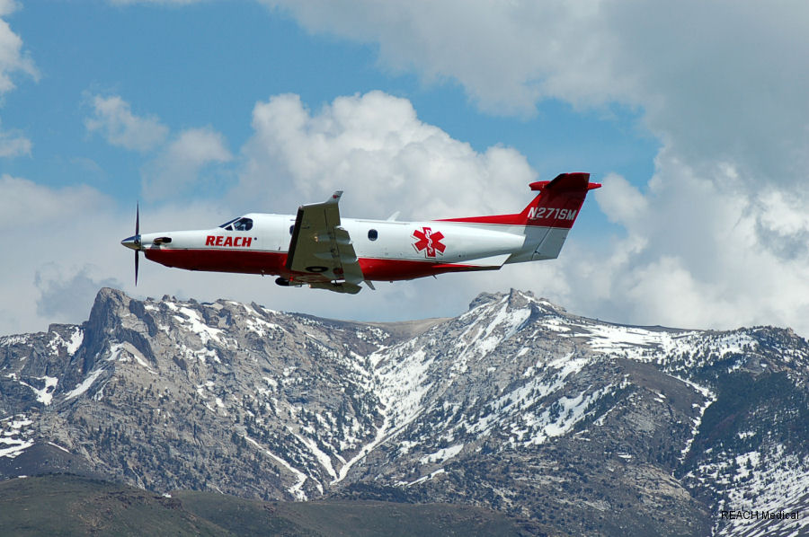 REACH Air Medical Services to provide fixed-wing aviation services to Care Fligh from Reno, Nevada