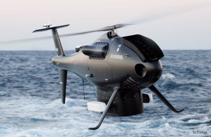 Royal Australian Navy (RAN) awarded Austrian company Schiebel a contract for the supply of its CAMCOPTER S-100 drone and three years of follow-on Contractor Logistics Support