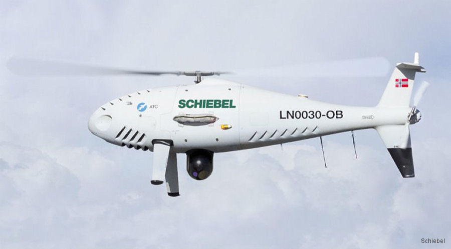 Schiebel CAMCOPTER S-100 Unmanned Air System (UAS) was presented to the Norwegian Coastguard, Navy, Air Force and other authorities during demanding trials at Andøya Test Center (ATC)