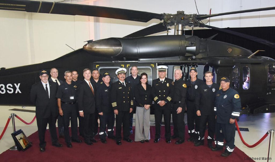 The Los Angeles County Fire Department held a delivery ceremony for 2 new PZL Mielec S-70i Black Hawks. They will customized in the Firehawk configuration and then join 3 S-70A already in service