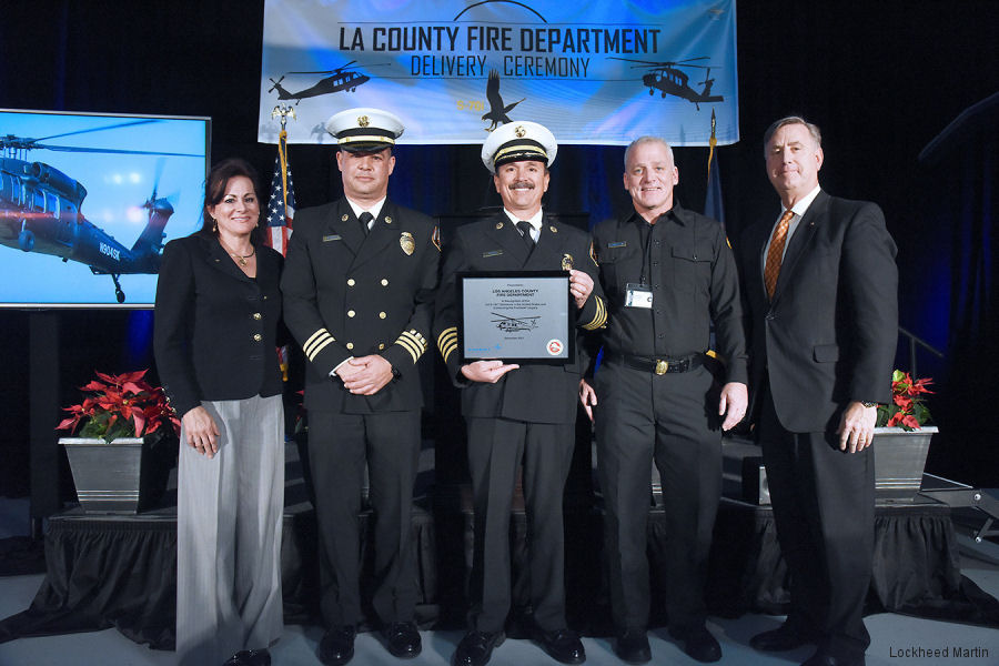 Los Angeles County Welcomed Two S-70i