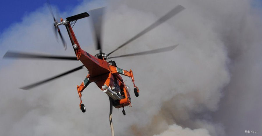 Fire Season. The World's Best Aerial Firefighting Machine Returns to Chile