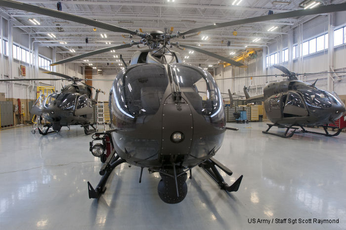 The New Mexico Army National Guard acquired from SAFE Structure Designs a set of maintenance stands, cowling racks and blade racks for its fleet of Airbus UH-72 Lakota helicopters