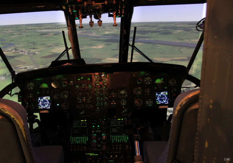 CAE announced at the International Training and Education Conference (ITEC) that completed a major upgrade on the German Navy's Sea King MK41 helicopter simulator located at Nordholz Naval Airbase