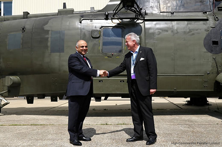 Pakistan Navy New Sea Kings Refurbishment  Helicopter