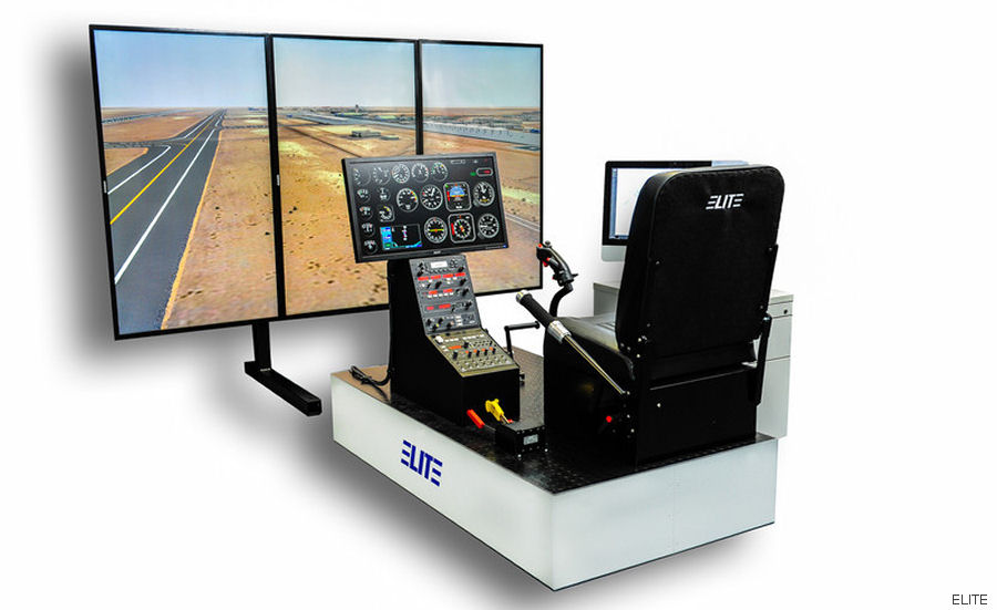 Seminole County Sheriff's Office purchased an ELITE TH-100 Advanced Aviation Training Device (AATD) helicopter simulator from ELITE Simulation Solutions