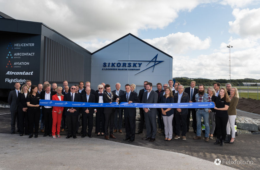 Sikorsky Celebrates One-Year Anniversary of Forward Stocking Location in Stavanger