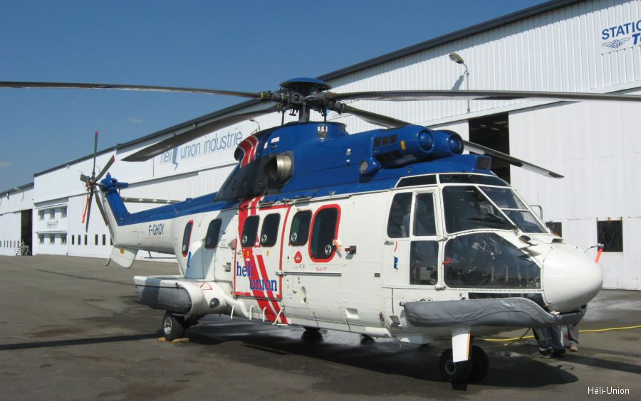 Héli-Union obtained first ever EASA certification of an LPV ( localizer performance with vertical guidance) capability on AS332L1 Super Puma with both digital and analogic systems