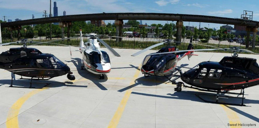 Indiana Helicopters and Helimotion, charter helicopter companies based in Goshen, Indiana, and Joliet, Illinois, respectively, have merged into one company to be called Sweet Helicopters