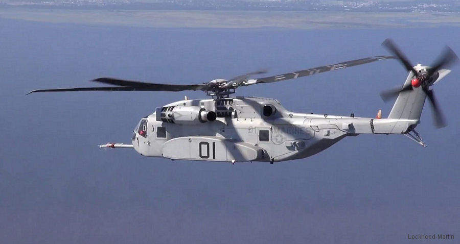 GE Begins Production of T408 Engine for CH-53K