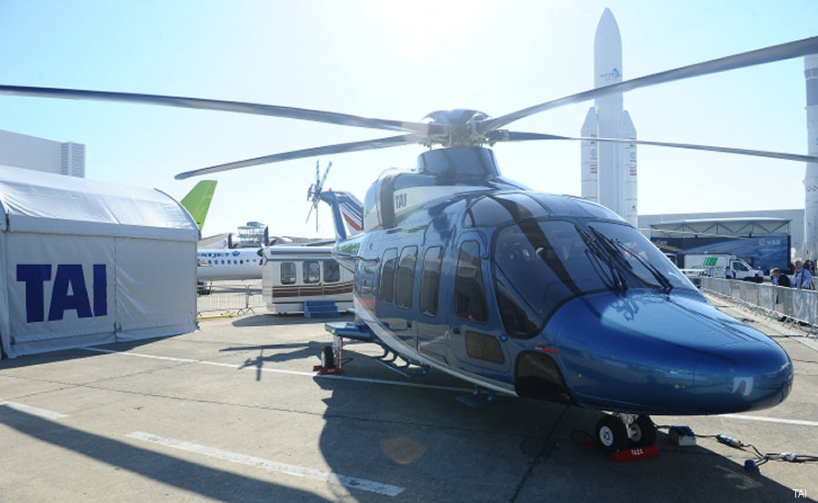 TAI Unveiled T625 Multi-Role Helicopter