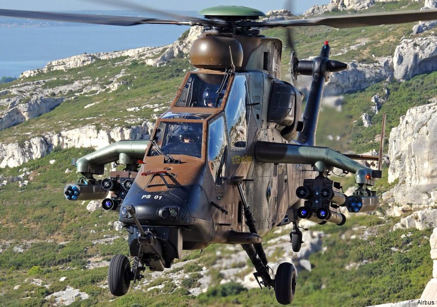 Airbus delivered first of 36 French Army Tiger HAP upgraded to the HAD version involving over 100 airframe modifications and installing over 1500 new parts and 250 electrical cables