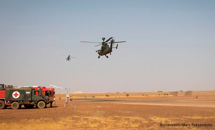 German Army Tigers Arrived  to Gao in Mali
