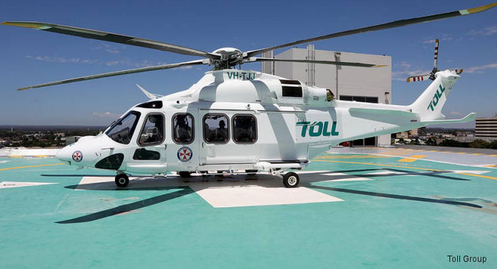 Toll Rescue Helicopter Service officially launched in partnership with NSW Ambulance. AW139 provide aeromedical services to communities of NSW in the Southern Zone.
