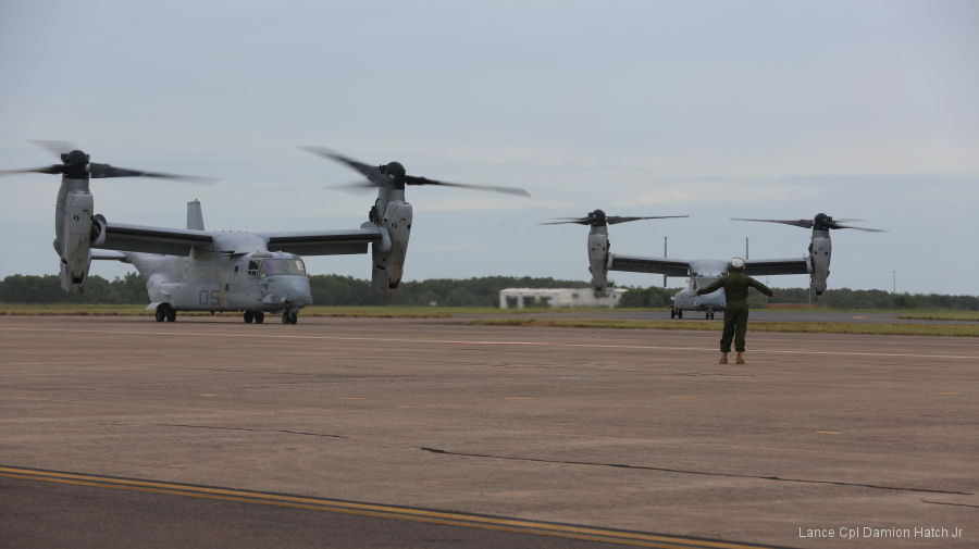 MV-22 Ospreys Complete First Trans-Pacific Flight