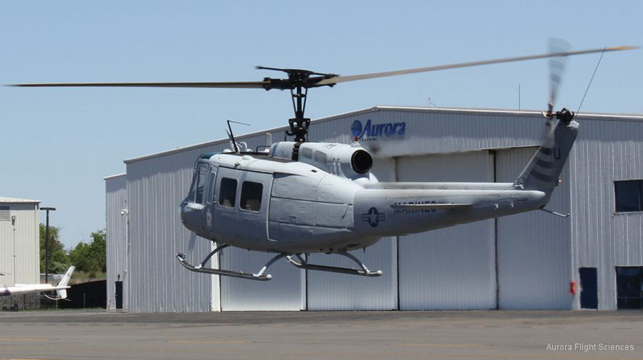 FAA Grants Airworthiness Certificate for Aurora's Optionally-Piloted UH-1H