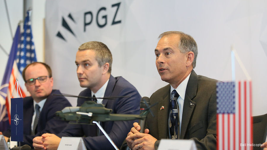 Bell Helicopter and PGZ Sign Letter of Intent for UH-1Y Cooperation