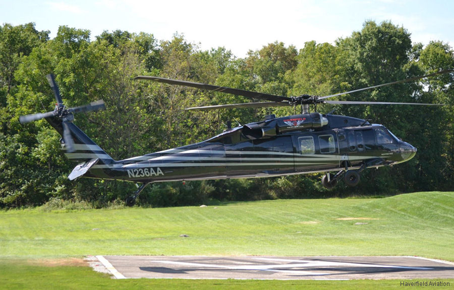 Haverfield Aviation which serves the electric utility industry in partnership with Arista Aviation Services added an ex US Army UH-60A Black Hawk to their fleet