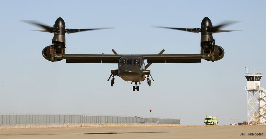 Bell V-280 Valor tilt-rotor has achieved first flight. Competing to be the next generation aircraft of US Army