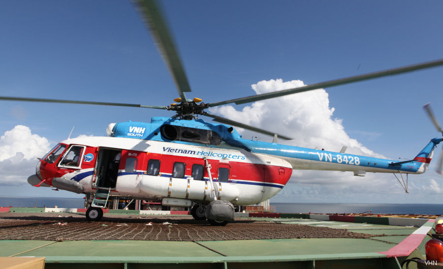 Southern Vietnam Helicopter Company (VNH South) and Vietsovpetro Joint Venture (VSP) signed renewal Helicopter Service for 2017–2019. 