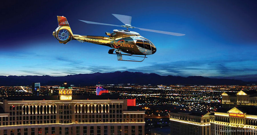 Las Vegas's Sundance Helicopters plans to break the Guinness World Record for most helicopter weddings in the air on July 7, 2017 with 