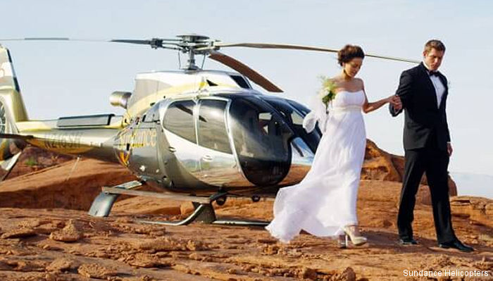 World Record of Most Helicopter Weddings