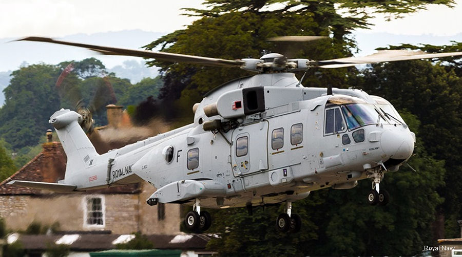 Marines' upgraded Merlin makes Yeovilton debut