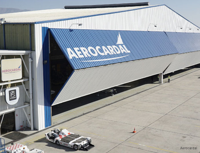 Aerocardal, based at Arturo Merino Benítez Airport in Santiago, appointed as an Authorised Service Centre for the Leonardo AW109 light twin-engine and AW119 single-engine helicopters in Chile