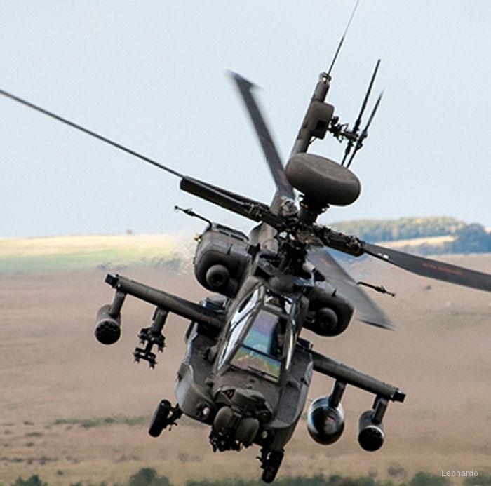 Leonardo signed contracts with UK MoD and Boeing to integrate sensors and countermeasures to the new British Army Air Corps AH-64E Apache