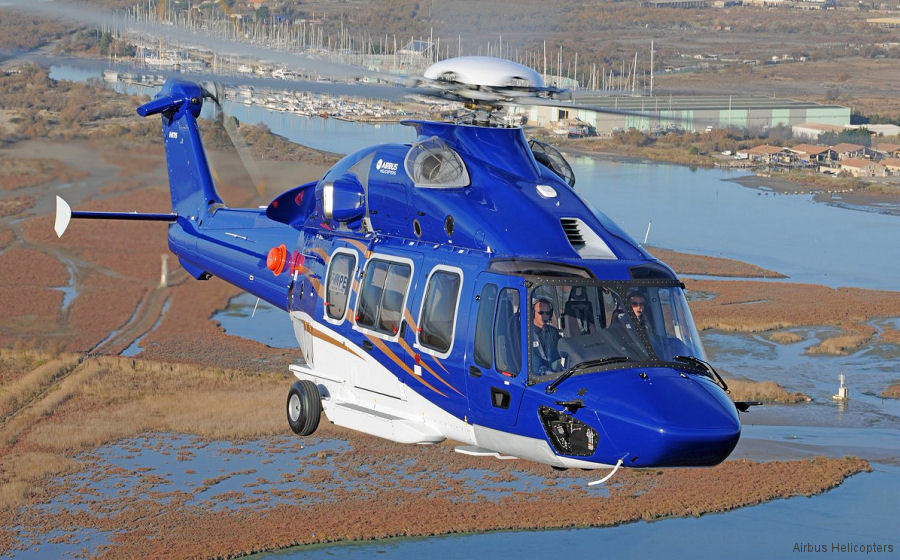 Airbus Helicopters delivered 409 helicopters and booked orders for other 335 in 2017 including 54 Super Pumas, 19 H175 and 105 for H135/H145