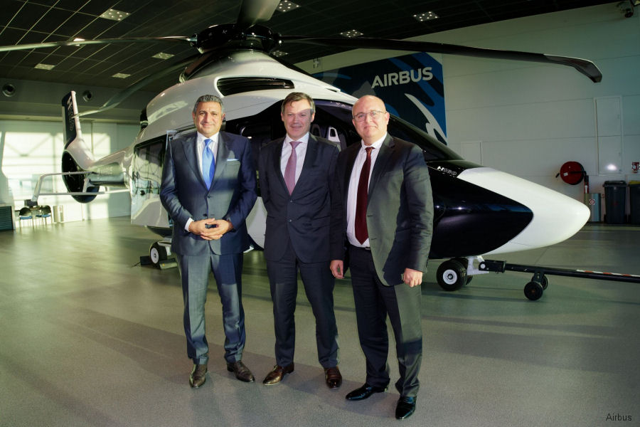 Airbus Helicopters appointed SB Havacılık A.Ş. (SBAIR) as its new distributor and Service Center in Turkey for civil product line