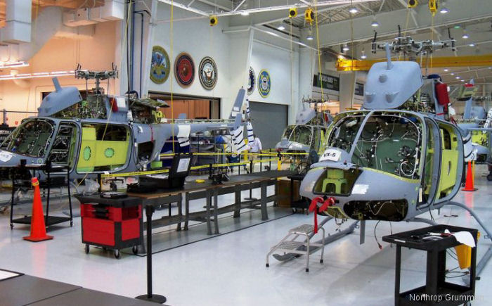 US Navy Acquired Bell 407 for MQ-8C Program