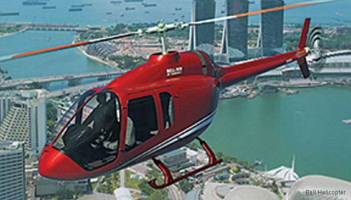 Helicopters Inc ordered the first 2 Bell 505 configured for electronic news gathering (ENG)