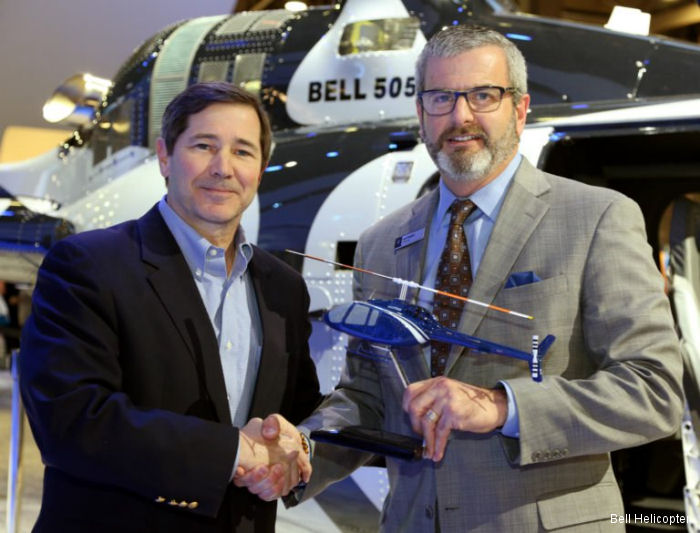 Helicopters, Inc. Gets First Bell 505 for News Service