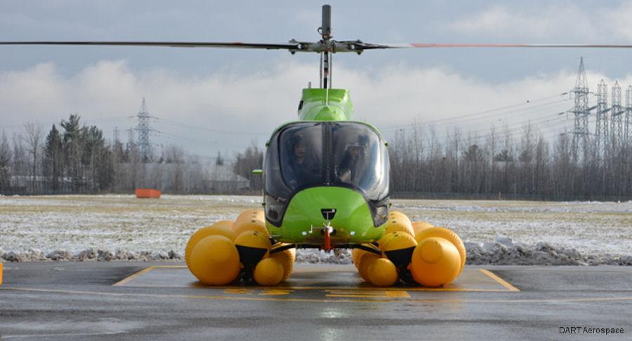 bell 505 emergency flotation system