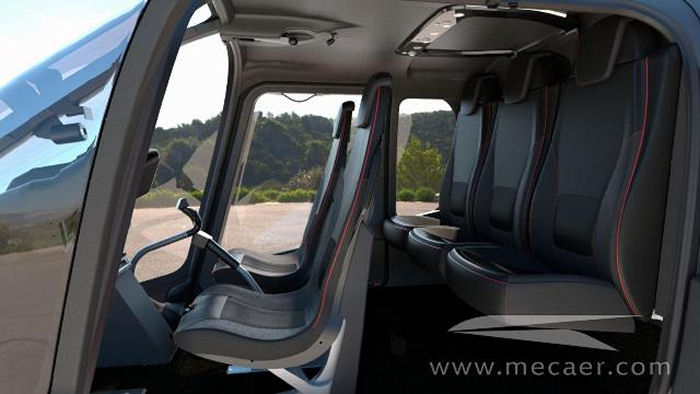 Montreal' Helite Aviation ordered the first Bell 505 customized with Mecaer Aviation Group (MAG) VIP interior