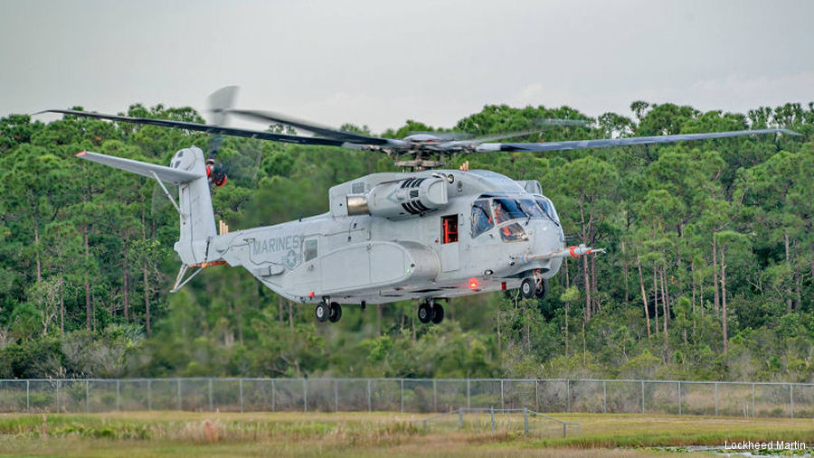 MTU will provide maintenance, repair and overhaul of the CH-53K engines if the helicopter is selected by the German Air Force