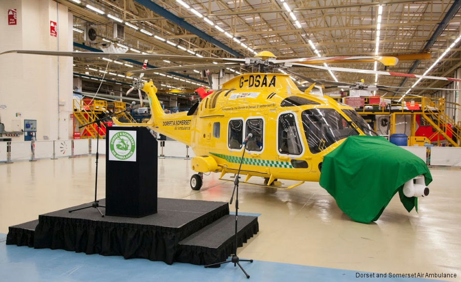 AW169 Pegasus Naming Ceremony