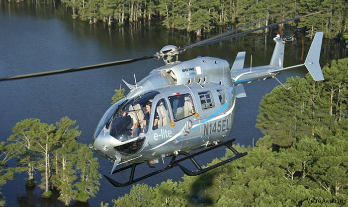 Metro Aviation, launch customer of the EC145e back in 2015, placed an order for additional 25 units. The EC145e is a special customized variant of the legacy EC145T1