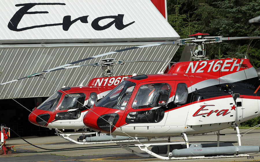 Era, one of the largest helicopter operators in the world, started a year-long celebration of 70 years of service beginning in 1948