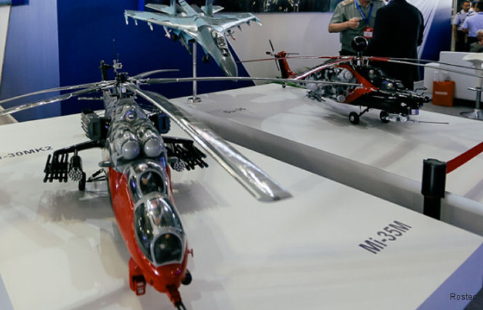 Russian Helicopters at FIDAE 2018