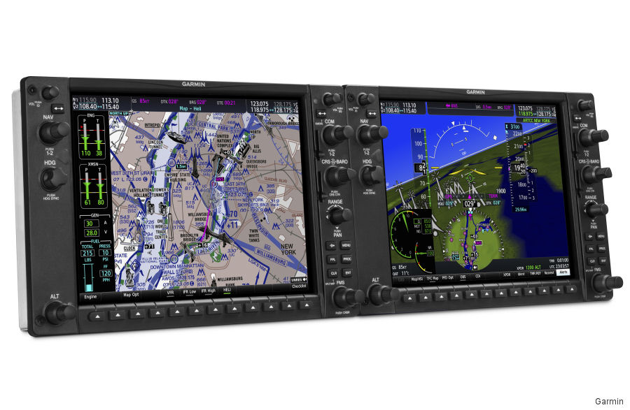 Garmin announced the G1000H NXi, the next-generation, all-glass integrated flight deck designed for the FAR Part 27 VFR helicopter market
