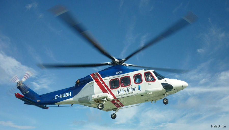 Heli Union, which is operating 8 AW139 in Africa and Asia, leased another one to be operated from Port Gentil, Gabon for offshore passenger transport