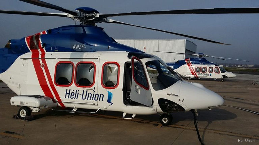 Heli Union AW139 New Contract in Gabon