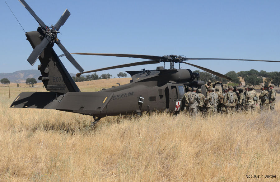 US Military News • U.S. Army Assault Helicopter Battalion's • MEDEVAC Training